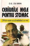 Ceaiurile Mele Pentru Stomac - D.E. Du Brin