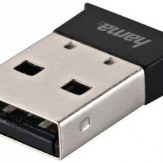 Adaptor Hama 49218, Bluetooth, USB 2.0 (Negru)