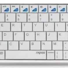 Tastatura Rapoo E6300 (Alb) - Tastatura PC