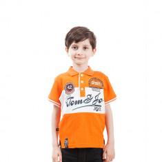 Tricou polo baieti Tom Jo NYC portocaliu