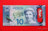 NOUA  ZEELANDA  -  10 Dollars 2015  -  UNC