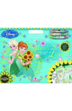Frozen Fever, Artist colour and sticker pad. Trusa de artist cu stickere