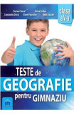 Teste de Geografie pentru gimnaziu - Clasa 5 - Dorina Cheval, Adina Serban