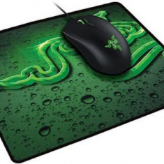 Mouse Gaming Razer Abyssus (Negru) + MousePad Terra