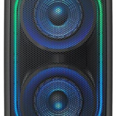 Sistem Audio Sony GTKXB90B, Hi-Fi, Bluetooth, NFC, Extra Bass, baterie, Party chain, Efecte lumini (Negru)