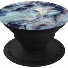 Suport Universal Popsockets cu Stand Adeziv, Model Blue Marble