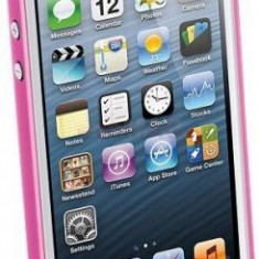 Husa Cellularline 035IPHONE5F pentru iPhone 5 (Fucsia) - Husa Telefon
