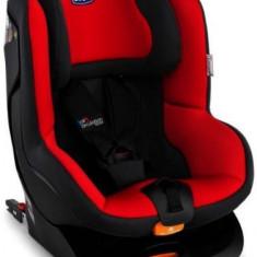 Scaun auto Chicco Go-One Isofix 8058664055623, 9-18 kg (Negru/Rosu) - Scaun auto copii