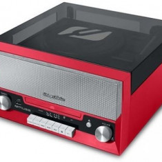 Pick-up Muse MT-110 RD, Bluetooth, Radio FM, CD Player, USB, 20 W (Rosu)