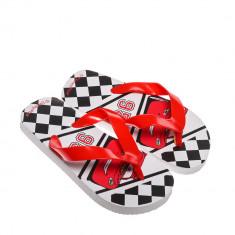 Papuci copii Disney rosii