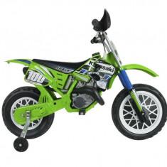 Motocicleta electrica KAWASAKI cross 6V Injusa