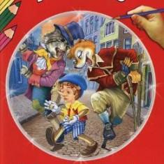 Citim si coloram - Pinocchio - Carte educativa