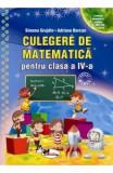 Culegere de matematica - Clasa 4 - Simona Grujdin, Adriana Borcan