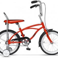 Bicicleta Pegas Mezin 2017 Baiat, Cadru 9inch, Roti 16inch (Rosu) - Bicicleta copii