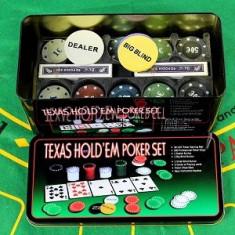 Set Poker 200 Jetoane Profesional