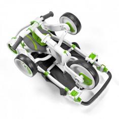 Tricicleta pliabila Galileo Verde - Tricicleta copii