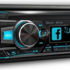 Player CD auto Alpine CDE-185BT, 4x50W, USB, Bluetooth, iluminare taste culori variabile - CD Player MP3 auto