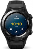 Smartwatch Huawei Watch W2, Procesor 1.1GHz, Amoled 1.2inch, 768MB RAM, 4GB Flash, Bluetooth (Negru)