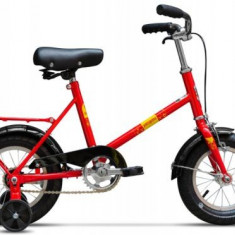 Bicicleta Pegas Soim, Cadru 12inch, Roti 12inch (Rosu) - Bicicleta copii