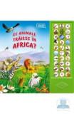 Ce animale traiesc in Africa? - Carte sonora