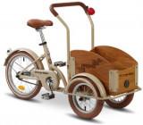 Bicicleta Pegas Mini Cargo 1S (Crem)