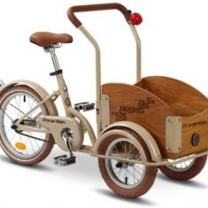 Bicicleta Pegas Mini Cargo 1S (Crem) - Bicicleta copii