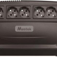 UPS PowerMust 600 Plus Line, 625VA / 375W, Schuko, Mustek