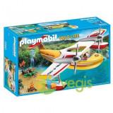 Playmobil - Avion pentru incendii 4-10 ani