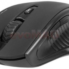 Mouse Wireless Tracer Battle Heroes Patrol RF NANO (Negru)
