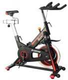 Bicicleta Fitness Spinning Lotto Race (Negru/Rosu)