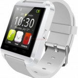 Smartwatch Tellur U8 Watch, LCD 1.44inch, Procesor 360MHz, 32MB RAM, Bluetooth (Alb)