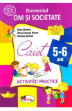 5-6 ani Domeniul: Om si societate - Activitati practice - Alice Nichita, Alina Carmen Bozon