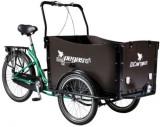 Bicicleta Pegas Cargo Adult 26x20, Roti 26inch, 3 Viteze (Verde)