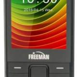 Telefon Mobil Freeman Speak T301, TFT 2.8inch, Bluetooth, Dual Sim (Negru)