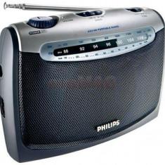 Radio portabil Philips AE2160 (Negru/Argintiu)