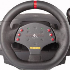 Volan Logitech MOMO Racing Force Feedback Wheel (pentru PC)