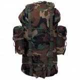 Rucsac MFH BW Combat Camuflaj Woodland 65L 30253T, 25 L