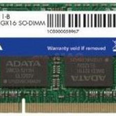 Memorie Laptop A-DATA SO-DIMM DDR3, 1x2GB, 1600MHz, CL11 (Bulk) - Memorie RAM laptop