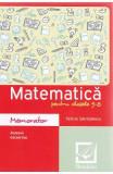 Memorator de matematica cls 5-8 ed.2016 - Felicia Sandulescu