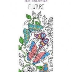 Semne de carte de colorat - Fluturi - Semn de carte