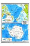 Harta Australia si Oceania (Fizica si Politica) + Arctica si Antarctica (Fizica)