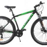 Bicicleta MTB Omega Sweep, Roti 29inch, 21 viteze (Neagra)