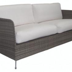 Canapea din rattan Orion Grey - Mobila Rattan