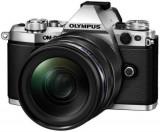 Aparat Foto Mirrorless Olympus E-M5II 1240 Kit, 16 MP, Filmare Full HD (Argintiu)