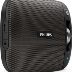 Boxa Portabila Philips BT2600B, 4 W, Bluetooth, Multipair (Negru)