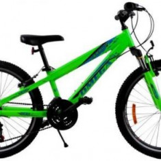 Bicicleta Omega Gerald, Roti 24inch, 18 viteze (Verde) - Bicicleta copii