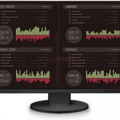 Monitor IPS LED Eizo 24.1inch EV2455-BK, Full HD, HDMI, VGA, 5ms, DisplayPort, Boxe (Negru), 24 inch, 1920 x 1200