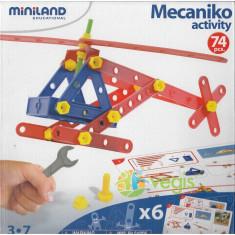 Joc constructii Mekanico 74, 3-7 ani - Miniland
