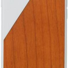 Protectie spate Native Union Walnut Wood pentru Apple iPhone 7 Plus/8 Plus (Alb/Maro) - Husa Telefon