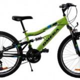 Bicicleta Omega MTB Magic, Roti 26inch (Verde)